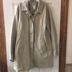 GAP khaki knee length spring jacket